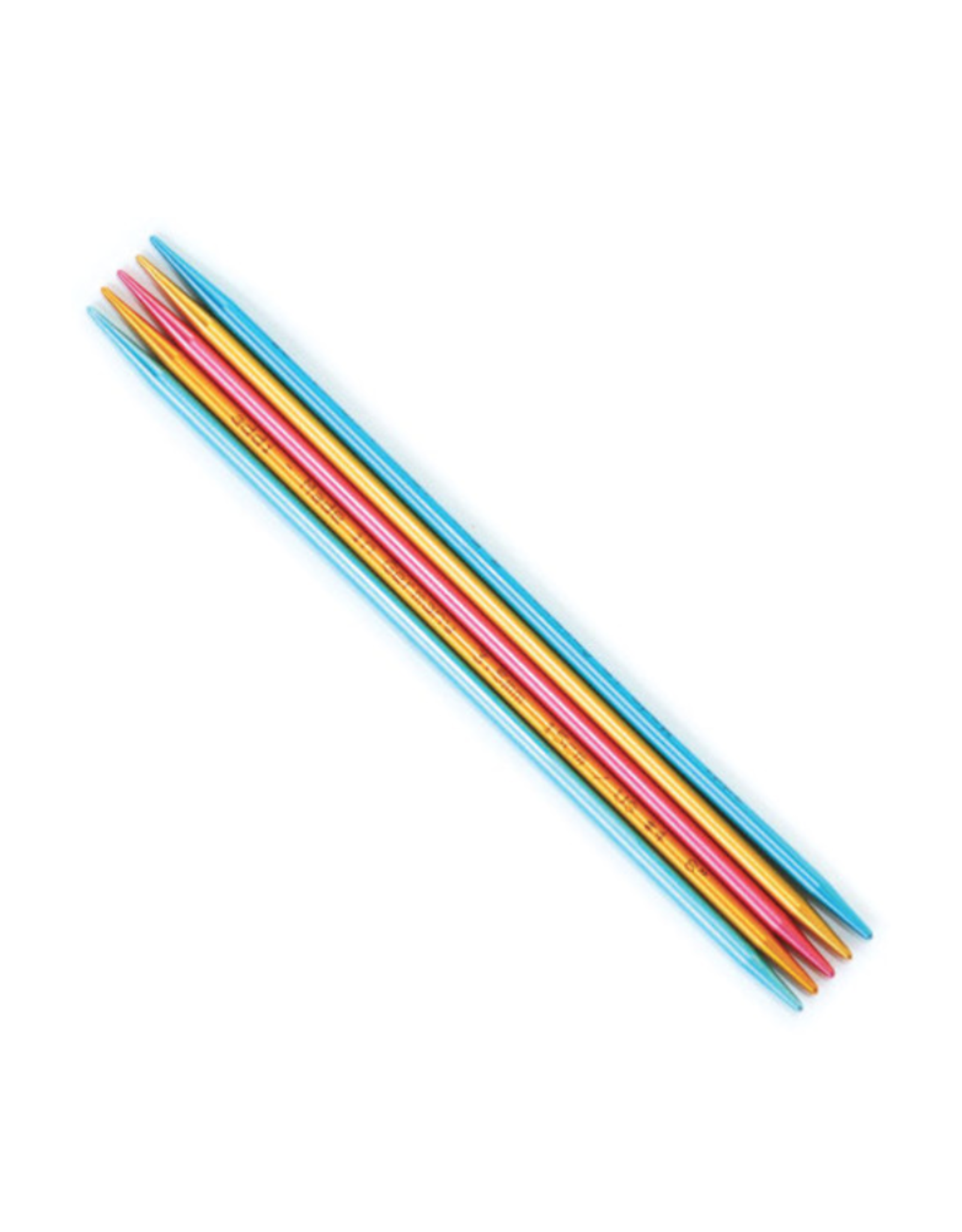 """Addi Flipstix 6"""" long double pointed needle, size US 1"""