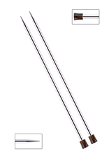 "Nova 10"" long straight needles, size US 4"
