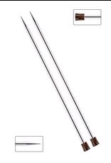"Nova 10"" long straight needles, size US 1"