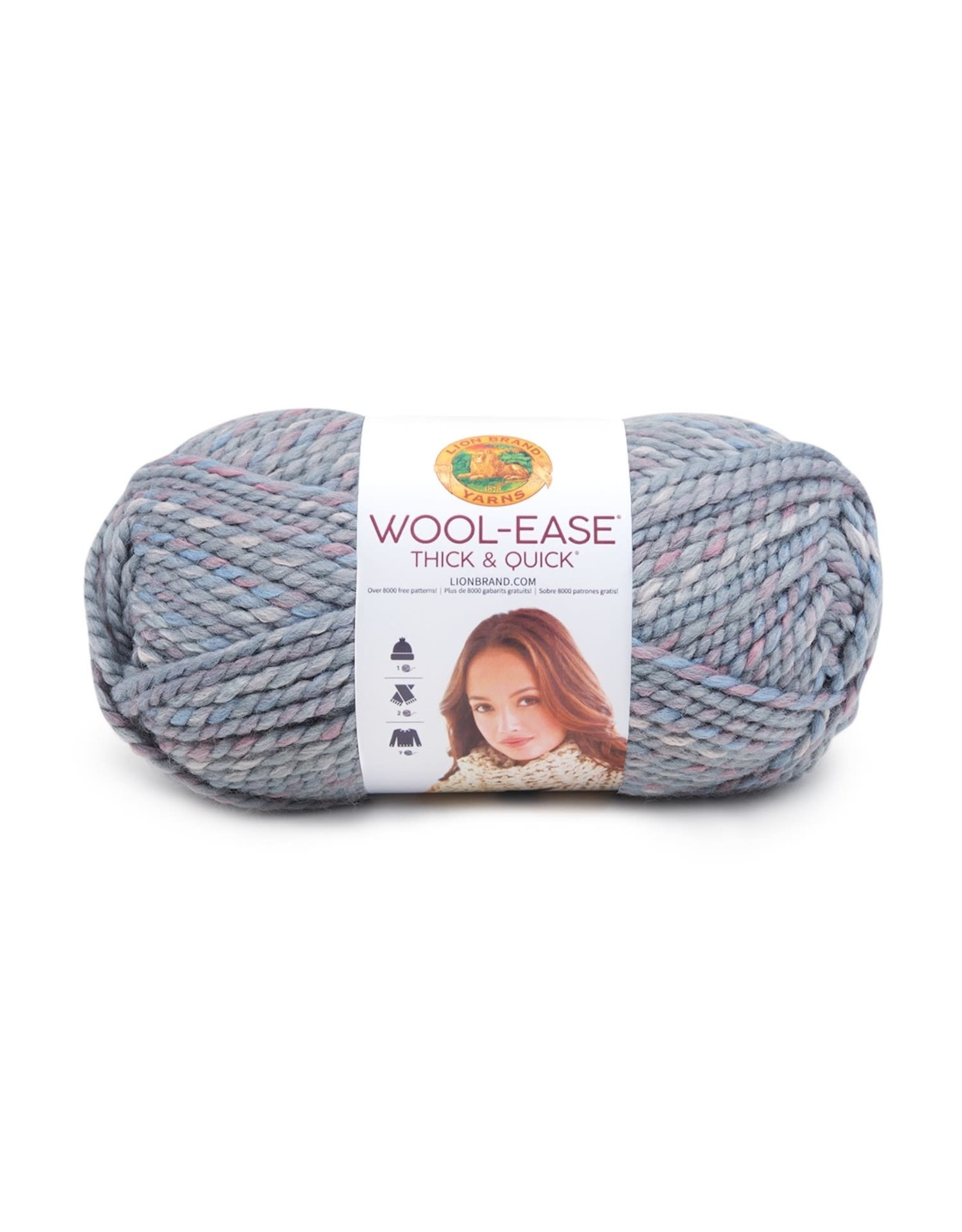 Storm Front - Wool Ease Thick and Quick - Lion Brand