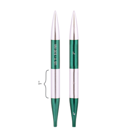 """Smart Stix size US 11 interchangeable needle tips for 24"""" cords and up."""