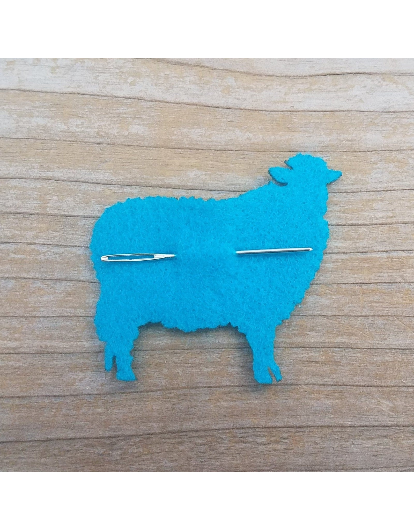 Tapestry Needle with Felt Sheep Holder by Katrinkles