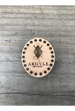 Argyle Stitchable Border Needle Minder by Katrinkles