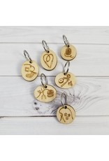 LYS limited edition ring stitch markers by Katrinkles