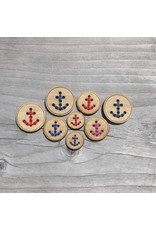 "Anchor Button - 1"" single button by Katrinkles"