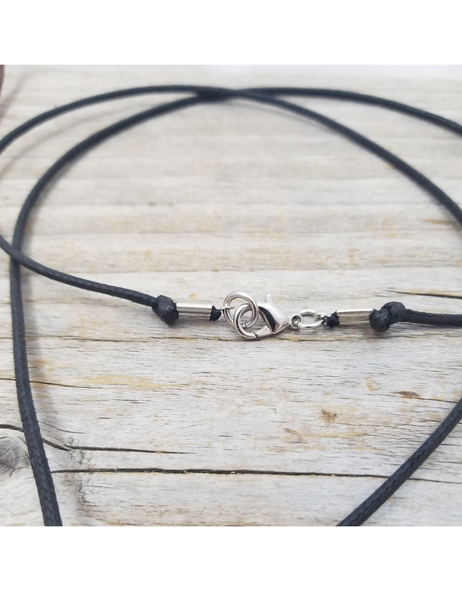 Tiny Tool Pendant Necklace w/black cord by Katrinkles