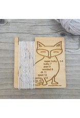 Fox Wraps Per Inch Tool by Katrinkles
