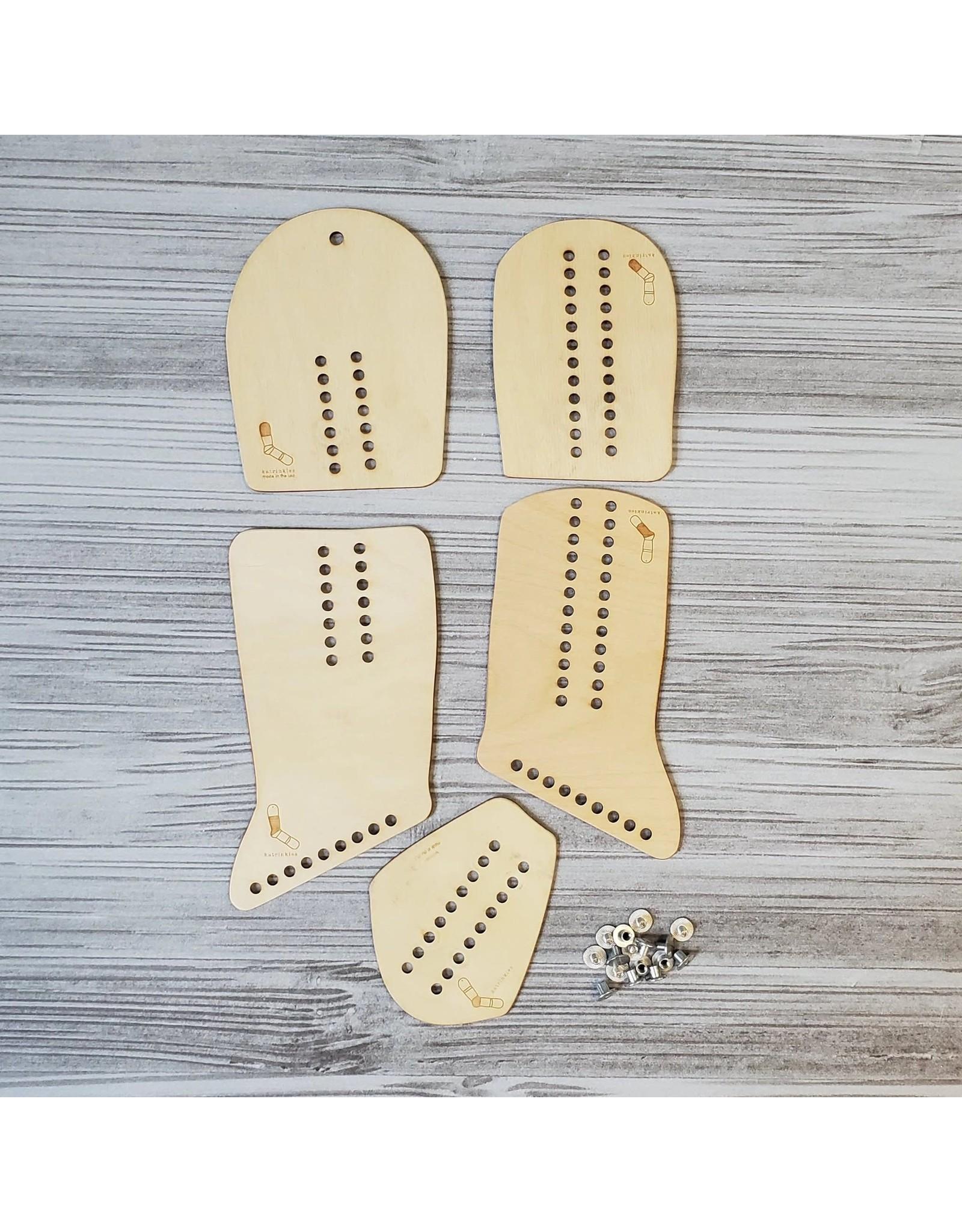 Adjustable Sock Blockers (Pair) by Katrinkles