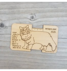 Cat Wraps Per Inch Tool by Katrinkles