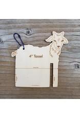 """Fiber Animal Tassel Maker 4"""" Goat by Katrinkles"""