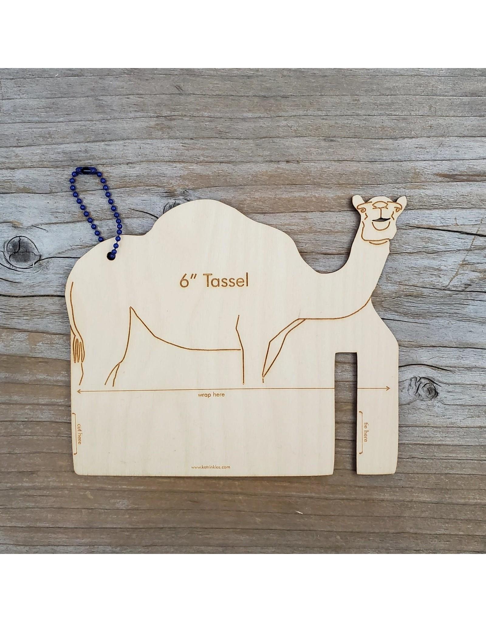 "Fiber Animal Tassel Maker 6"" Camel by Katrinkles"