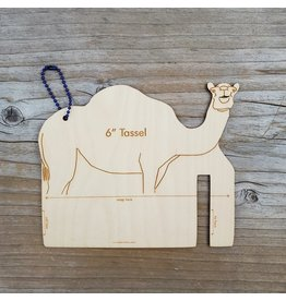 "Fiber Animal Tassel Maker 6"" Camel by Katrinkles"