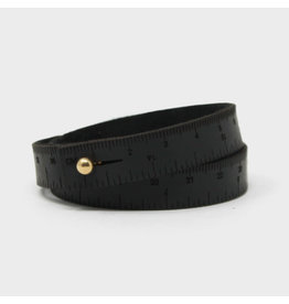 Wrist Ruler - BLACK - 16 inches