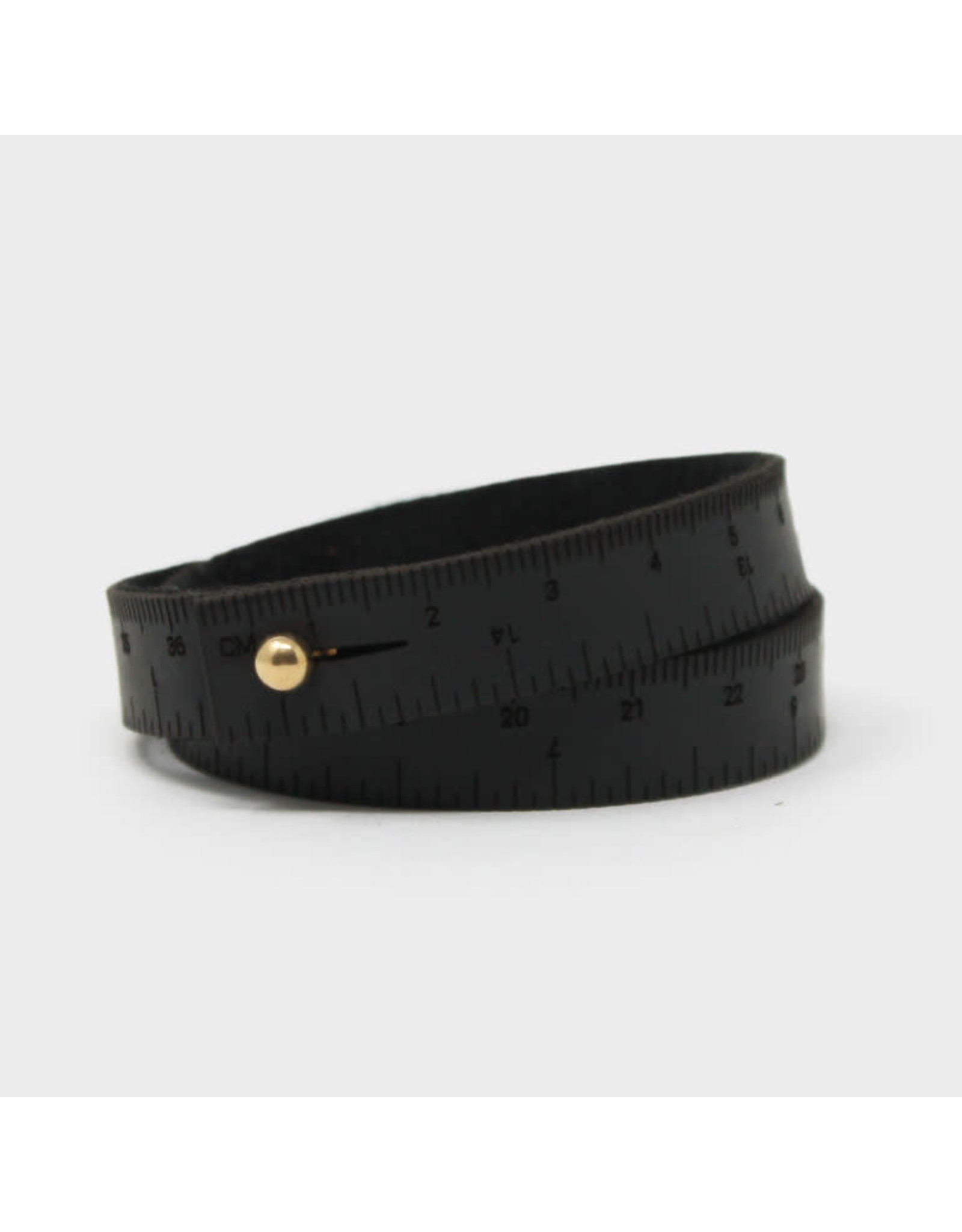 Wrist Ruler - BLACK - 17 inches