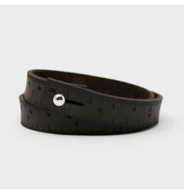 Wrist Ruler - DARK BROWN - 16 inches