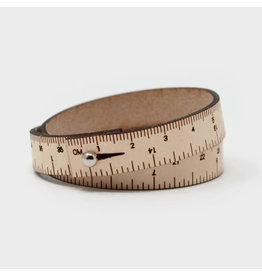 Wrist Ruler - NATURAL - 17 inches