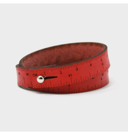 Wrist Ruler - RED - 16 inches