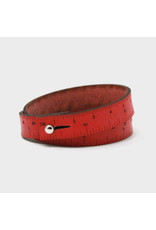 Wrist Ruler - RED - 17 inches