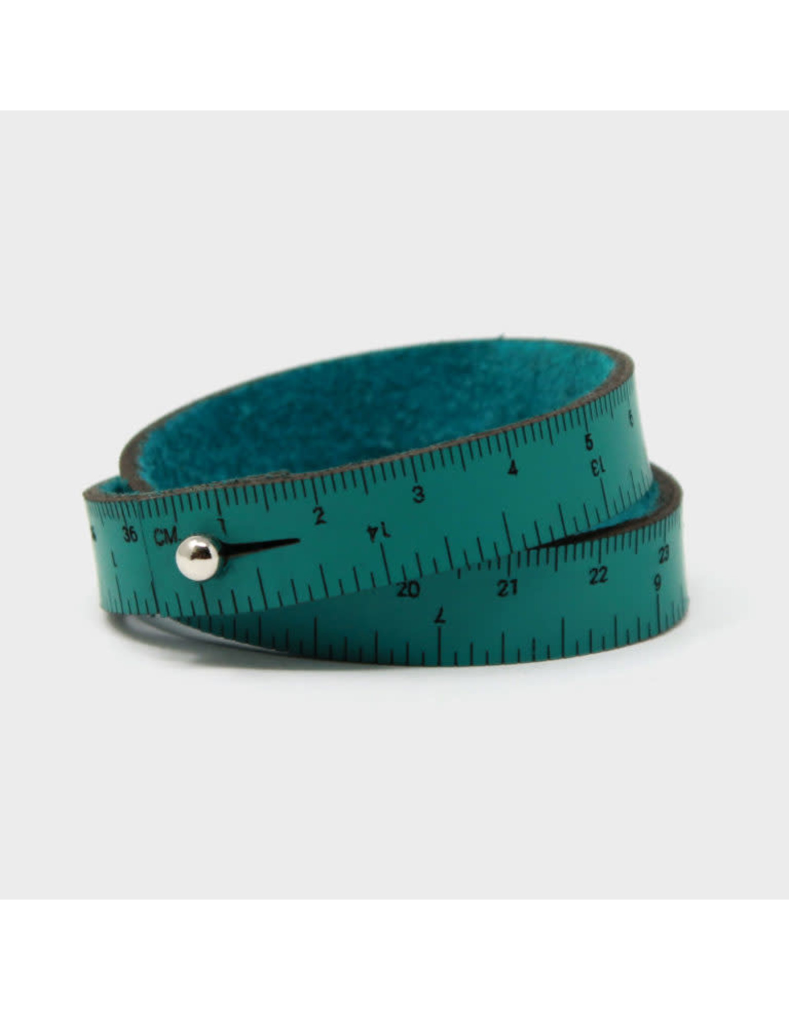 Wrist Ruler - TEAL - 16 inches