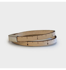 Wrist Ruler - THIN LINE - NATURAL - 16 inches
