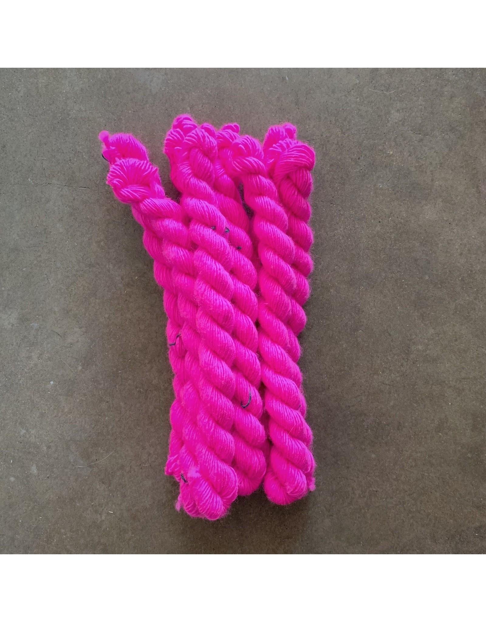 Fluoro Rose - Unicorn Tails - Madelinetosh