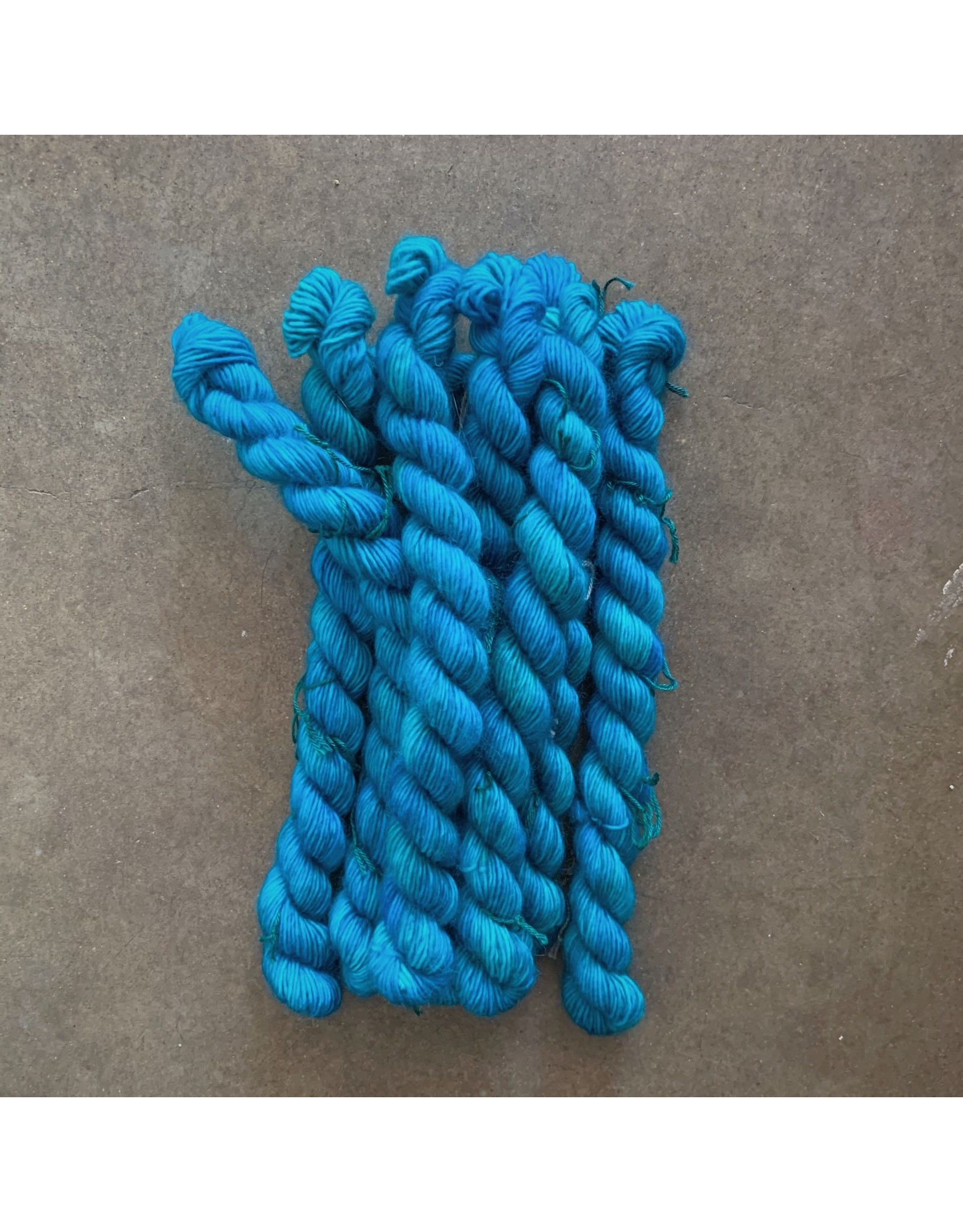Nassau Blue - Unicorn Tails - Madelinetosh