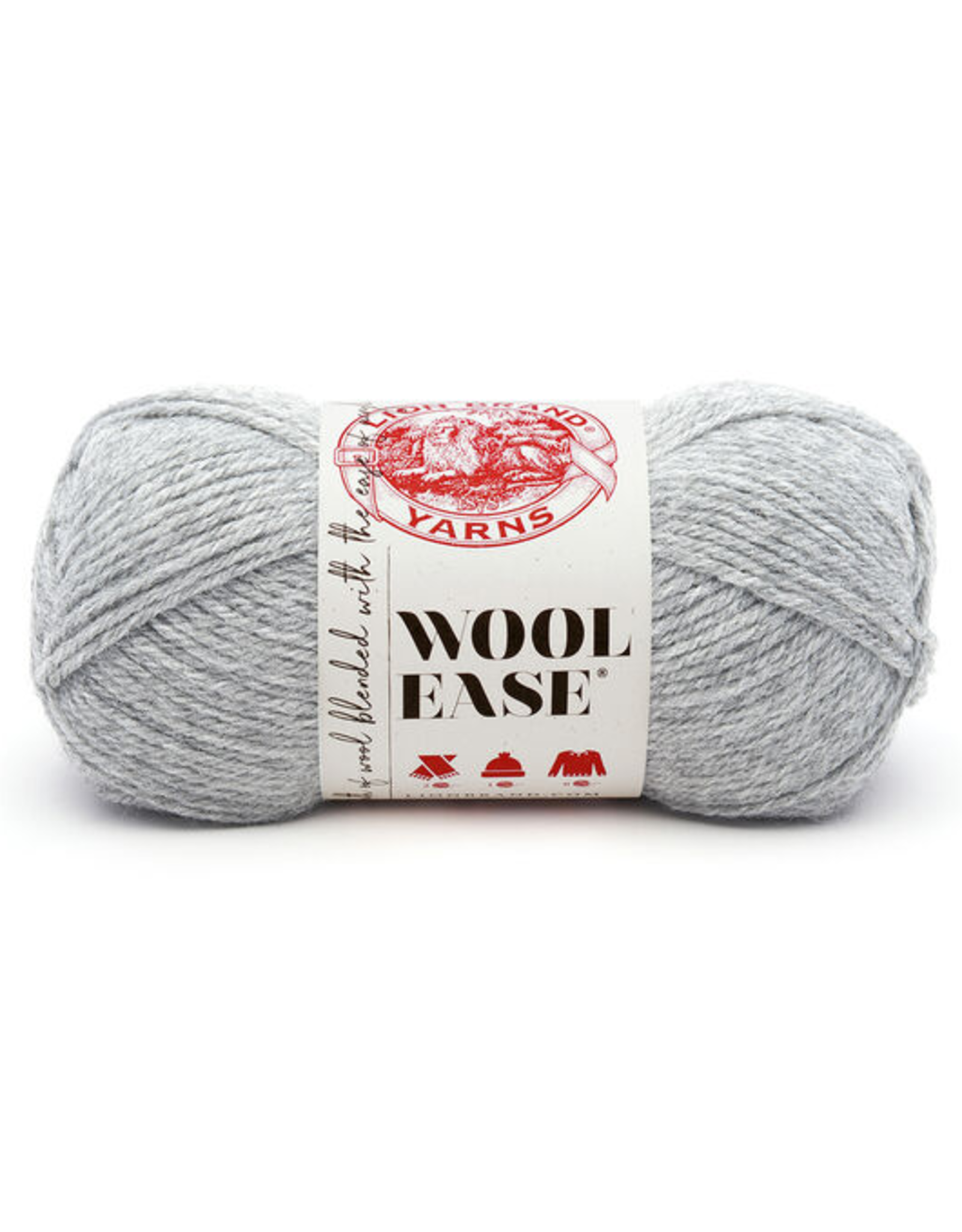 Grey Heather - Wool Ease - Lion Brand