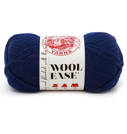 Navy - Wool Ease - Lion Brand