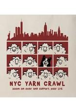 NYC Yarn Crawl 2020 Tote Bag