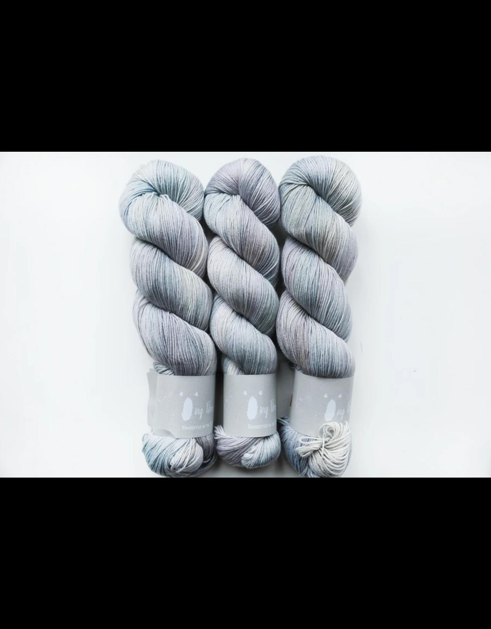 Qing Fibre Titanium - Merino Single - Qing Fibre