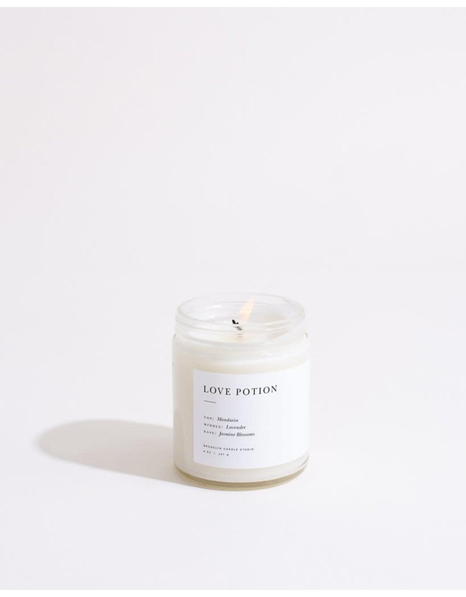 Brooklyn Candle Studio Love Potion - Minimalist Jar Candle - Brooklyn Candle Studio