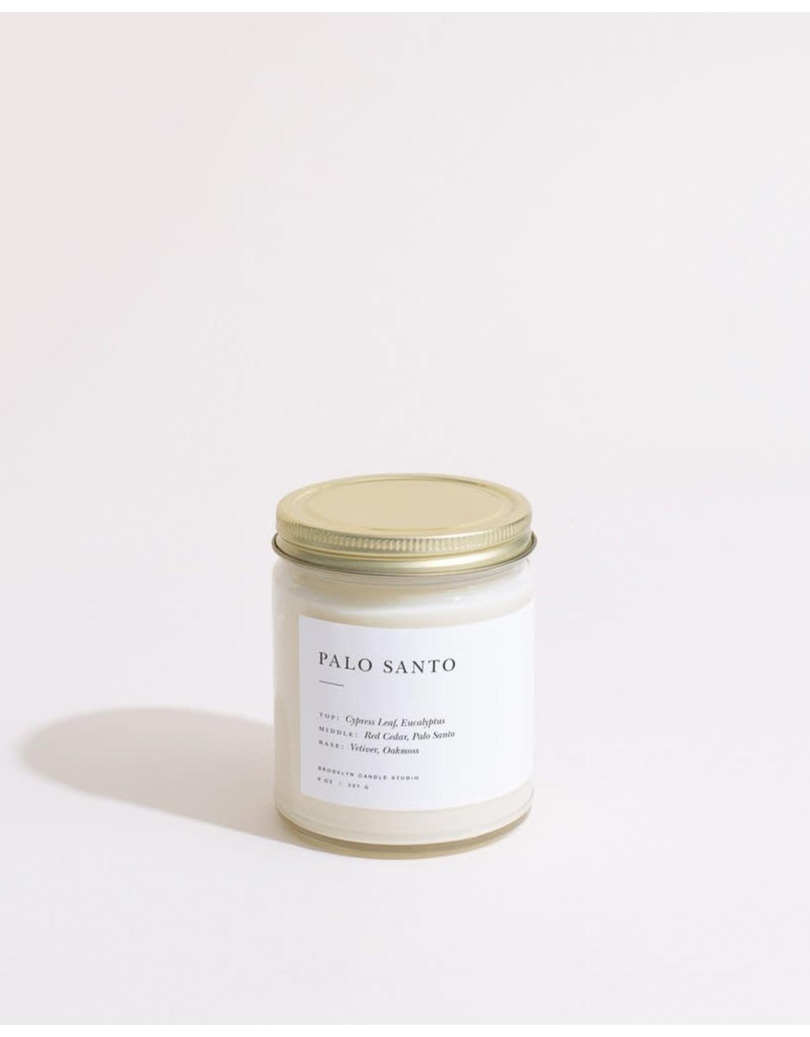 Brooklyn Candle Studio Palo Santo - Minimalist Jar Candle - Brooklyn Candle Studio