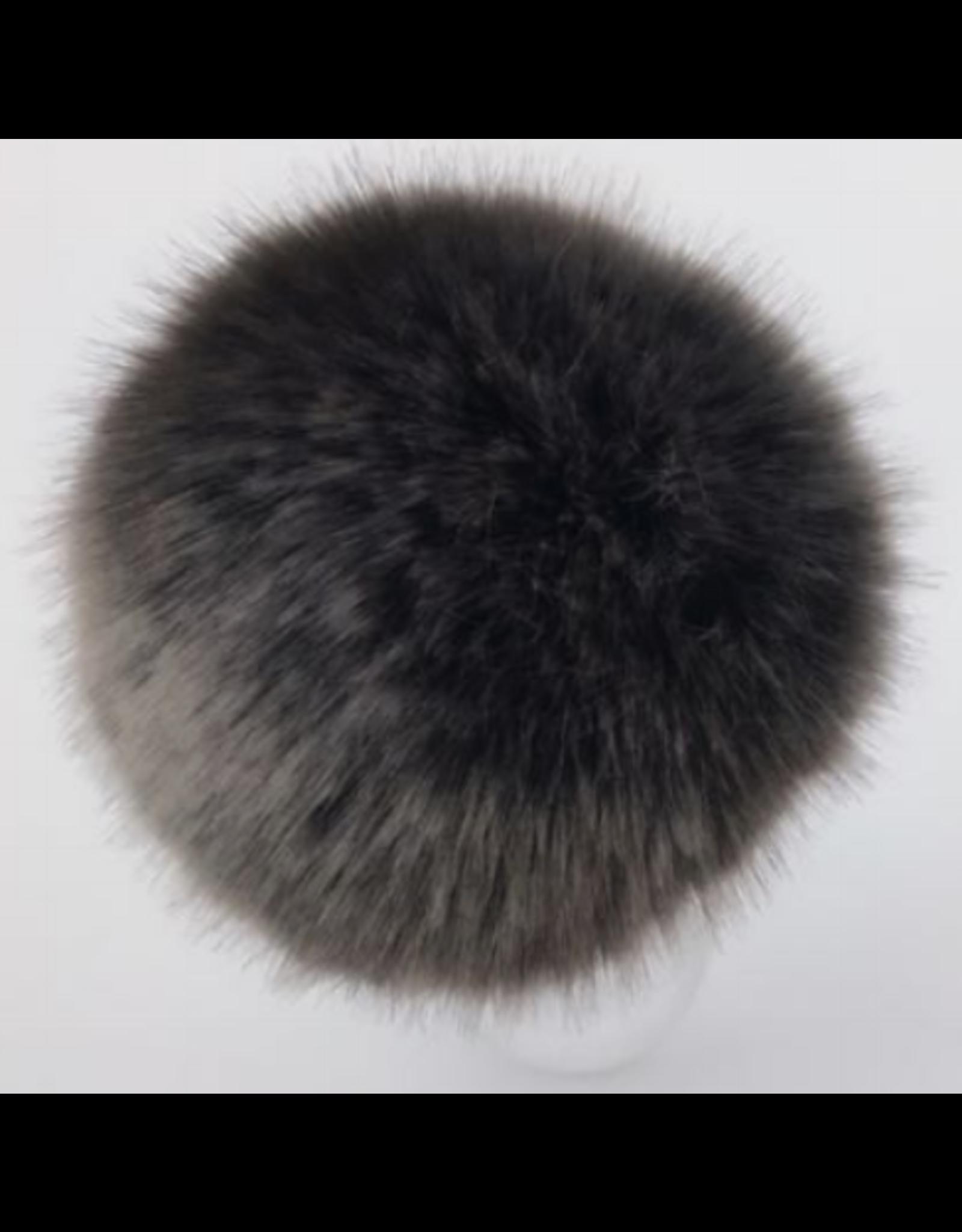 Faux Fur Pom Pom - Neutrals - Mink