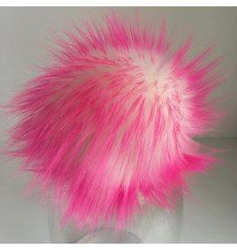 Faux Fur Pom Pom - Brights - Princess