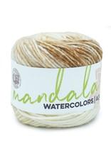 Almond - Mandala Watercolor - Lion Brand
