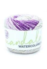 Icy Grape - Mandala Watercolor - Lion Brand