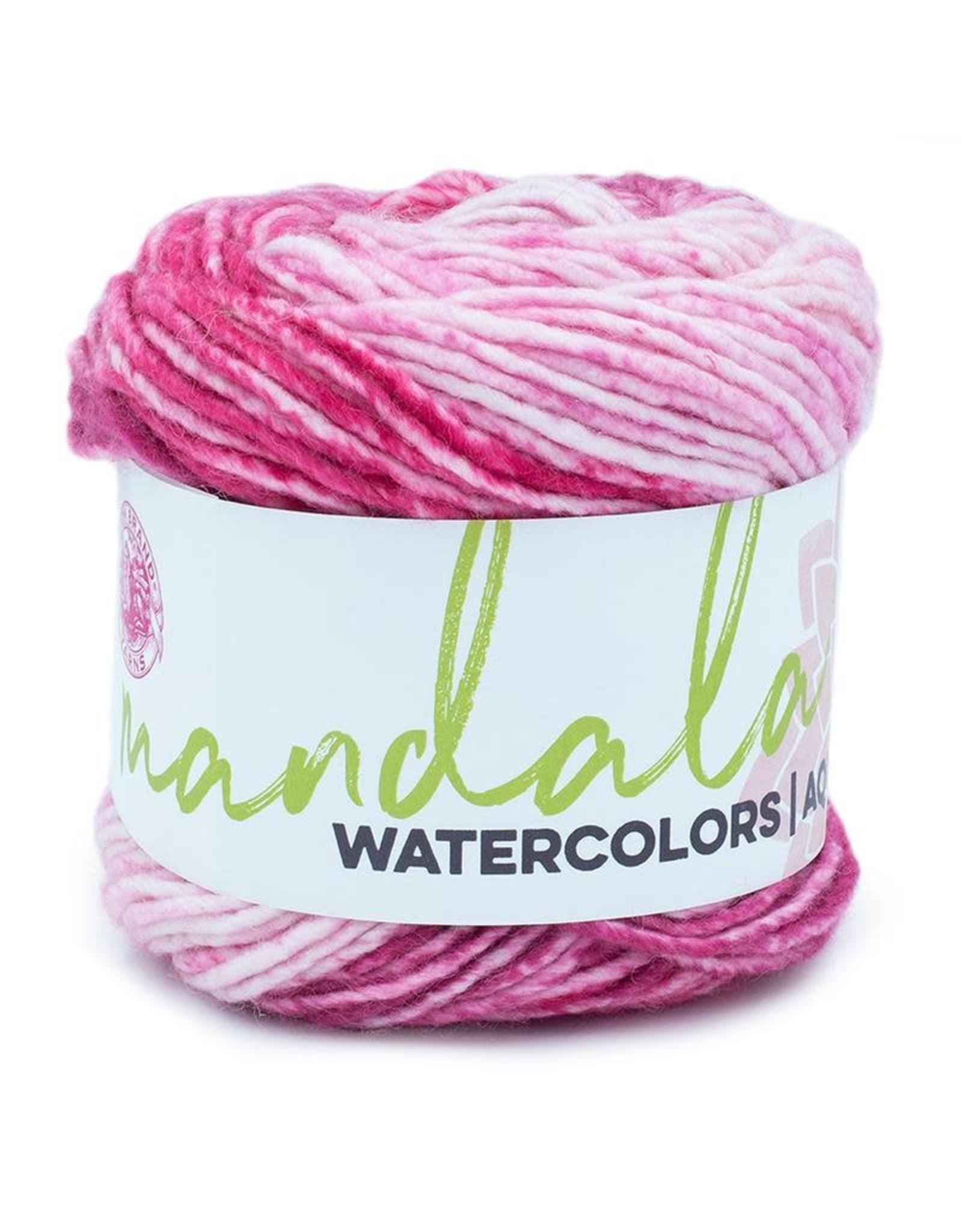 Teaberry - Mandala Watercolor - Lion Brand