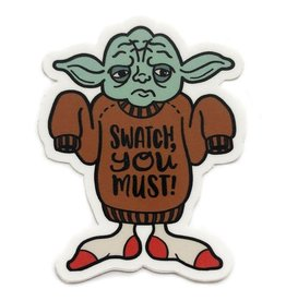 Shelli Can ShelliCan Star Wools Jedi Sticker