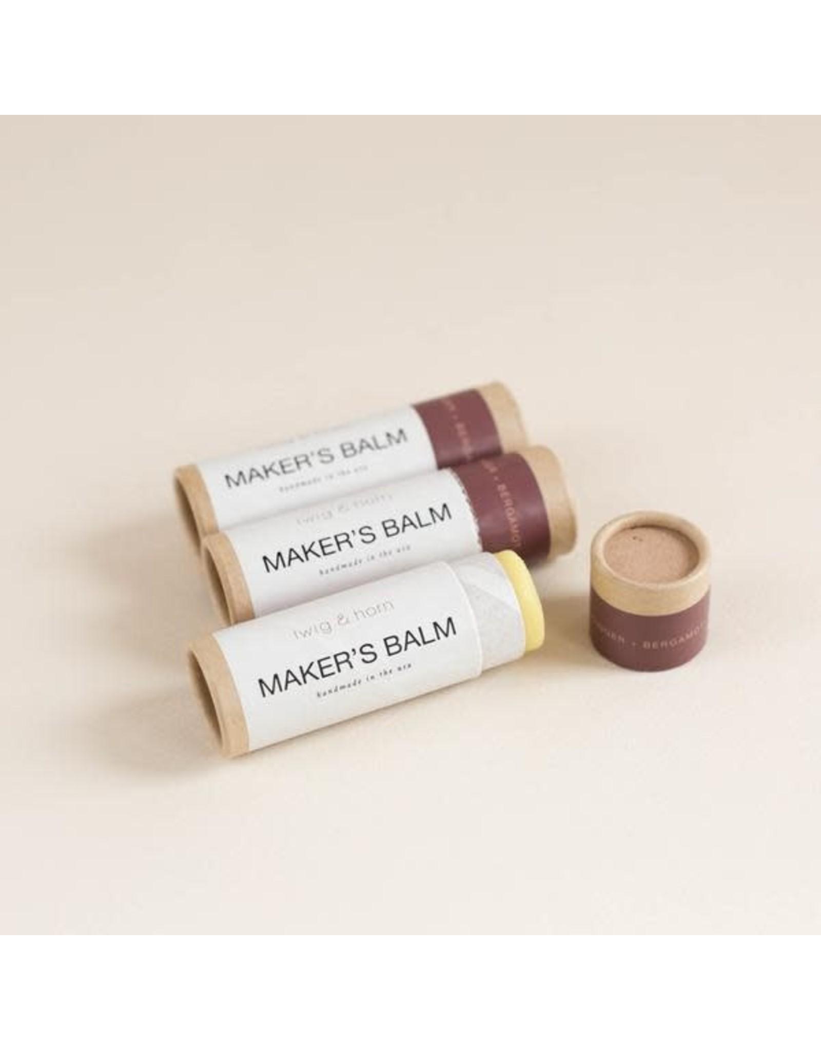 Maker's Hand Balm - Ginger and Bergamot