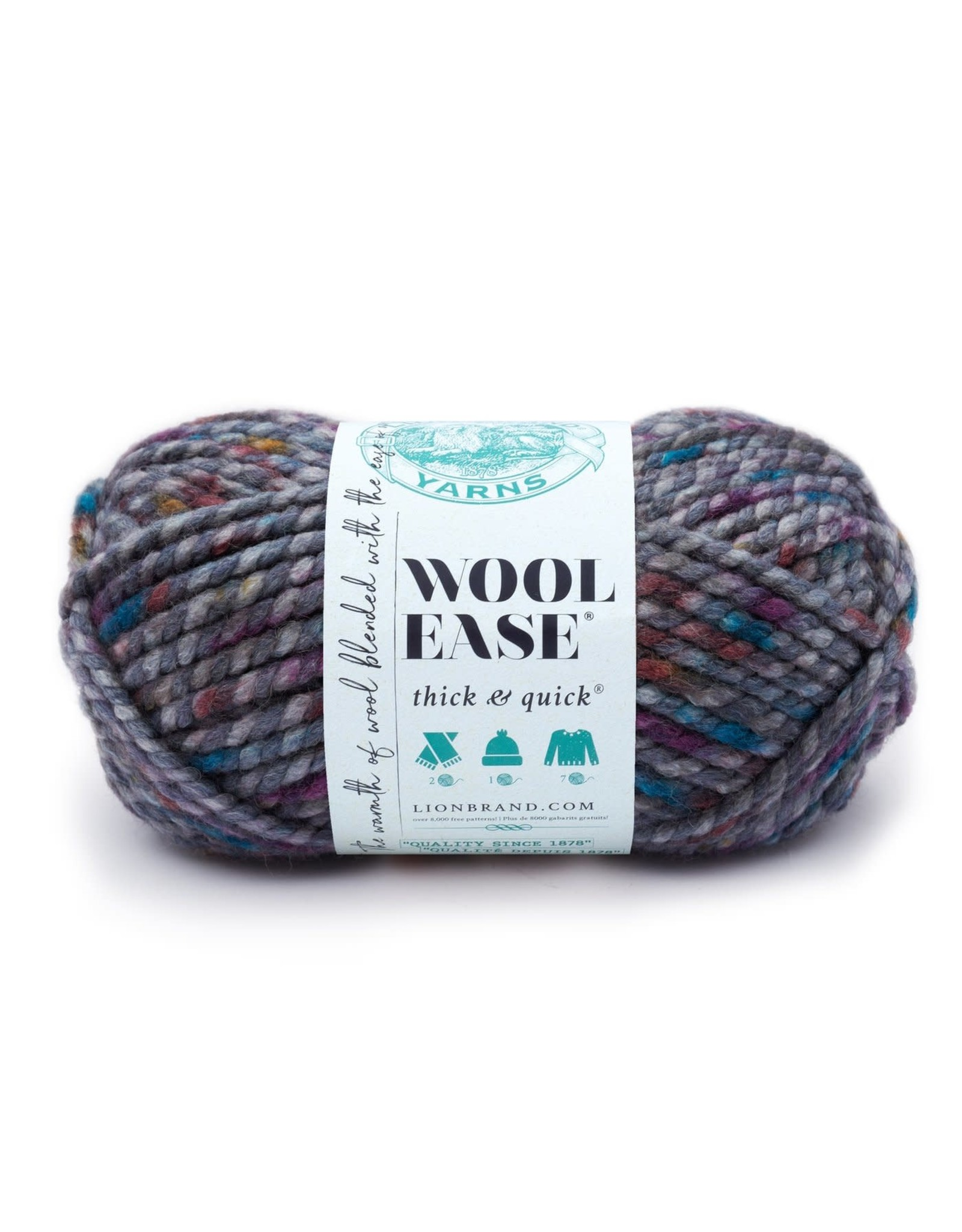 Abalone - Wool Ease Thick and Quick - Lion Brand