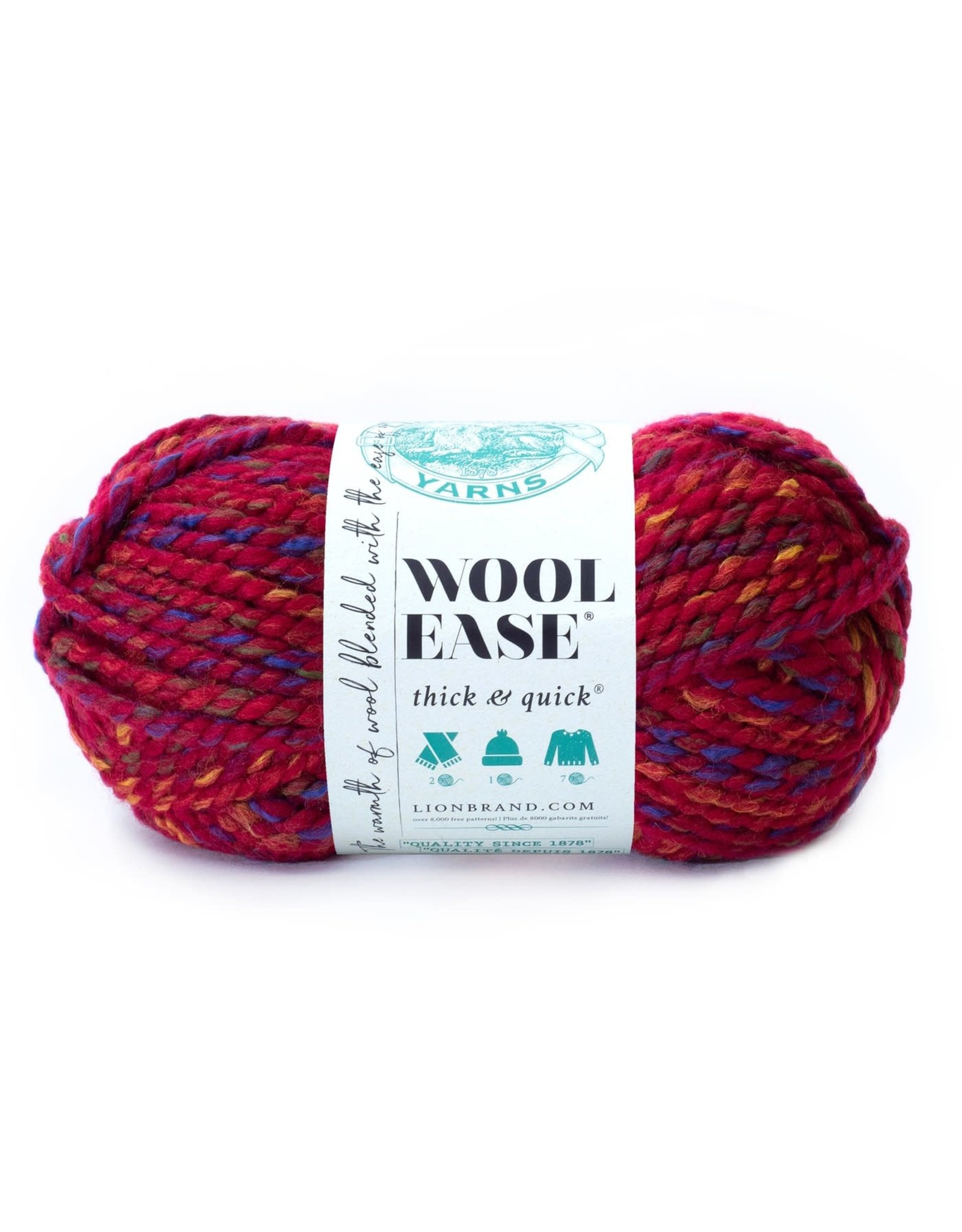 Campfire - Wool Ease Thick and Quick - Lion Brand