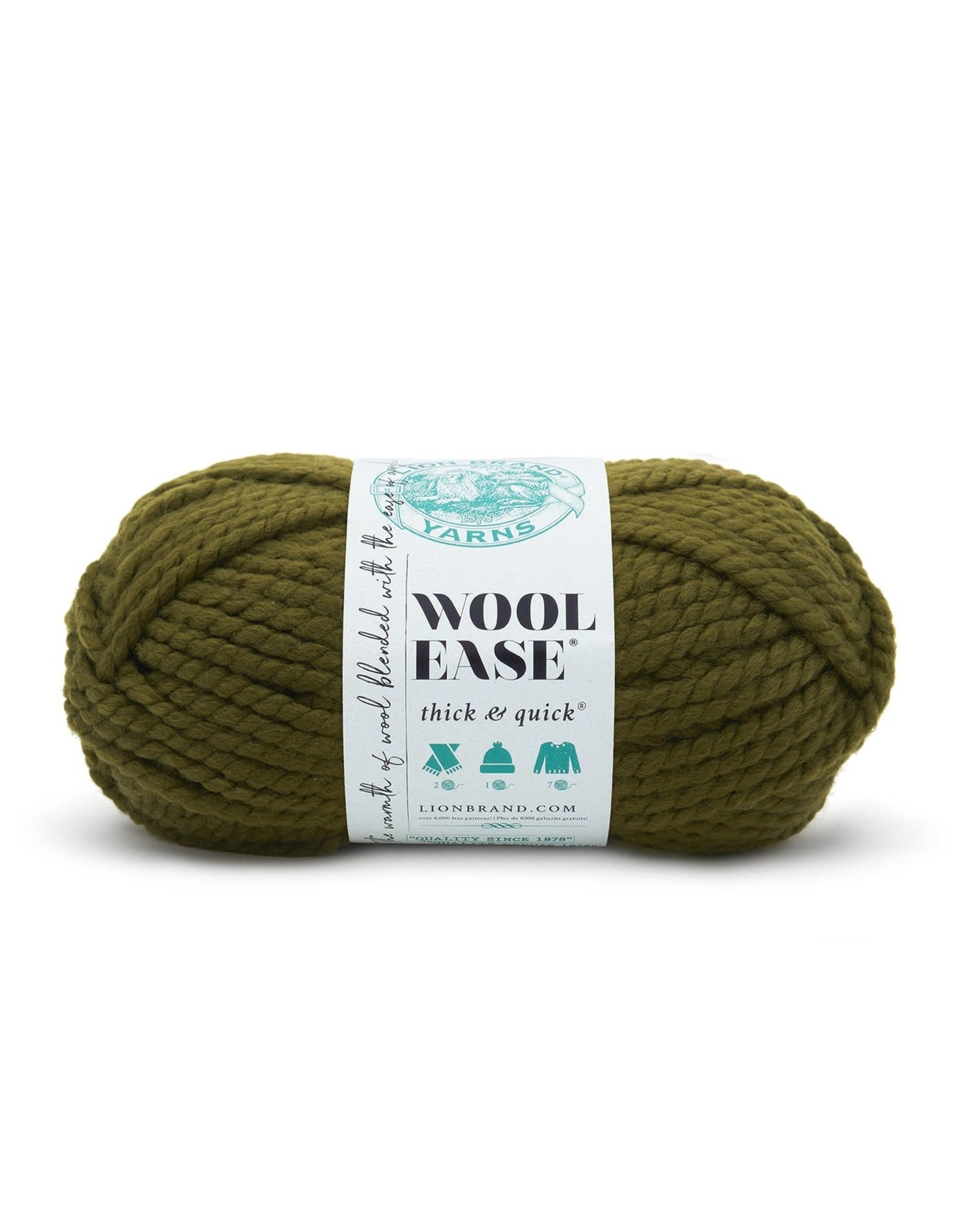 Cilantro - Wool Ease Thick and Quick - Lion Brand