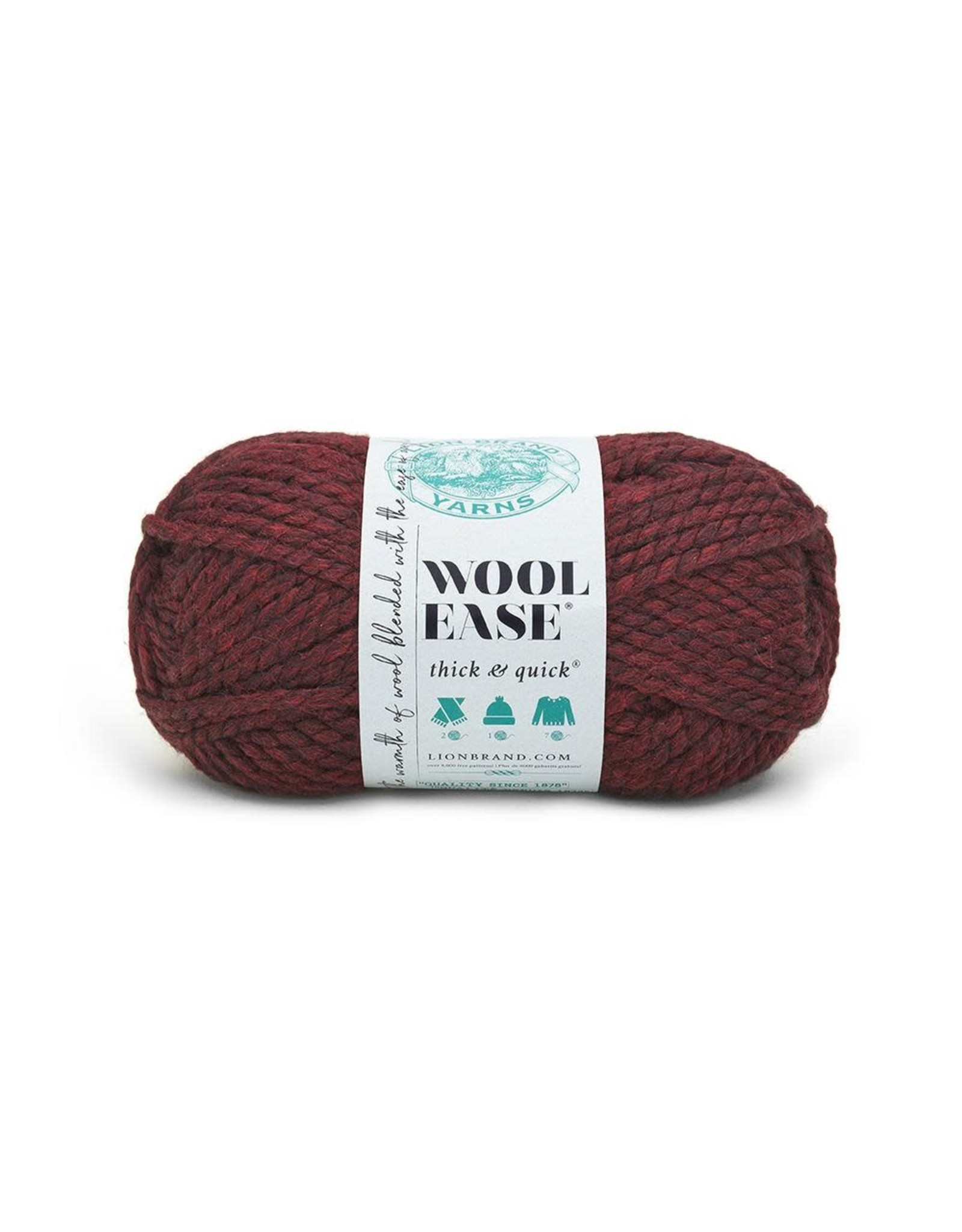 Claret - Wool Ease Thick and Quick - Lion Brand