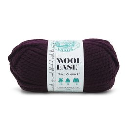 Eggplant - Wool Ease Thick and Quick - Lion Brand