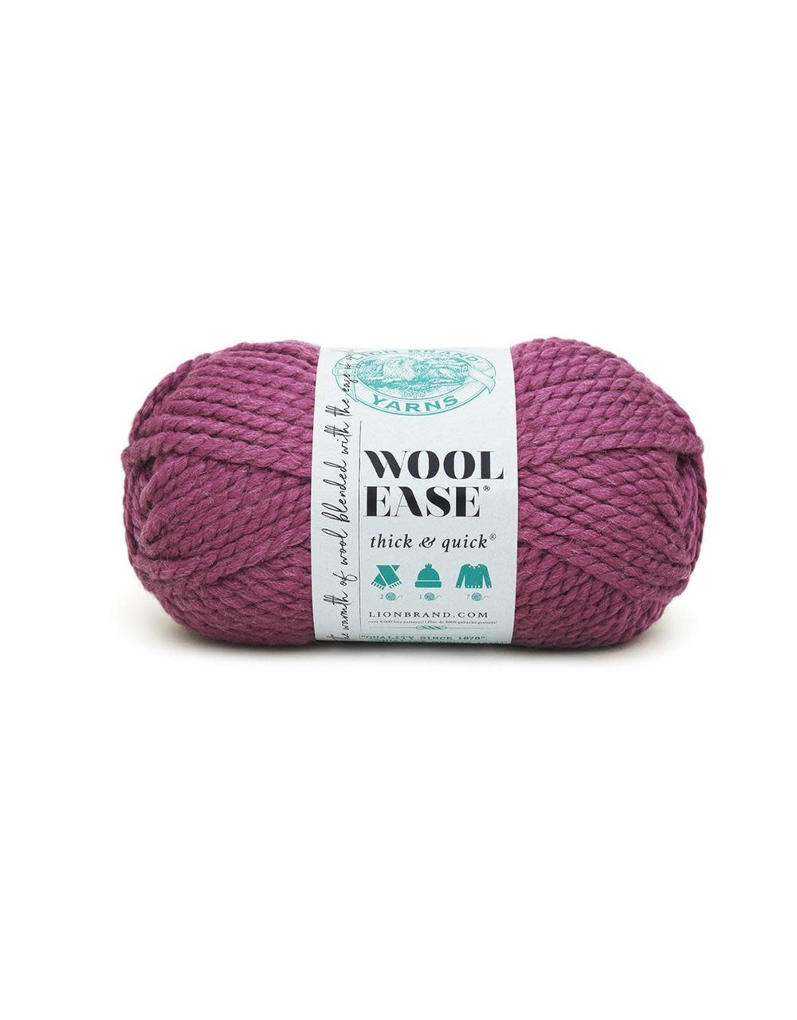 Fig - Wool Ease Thick and Quick - Lion Brand