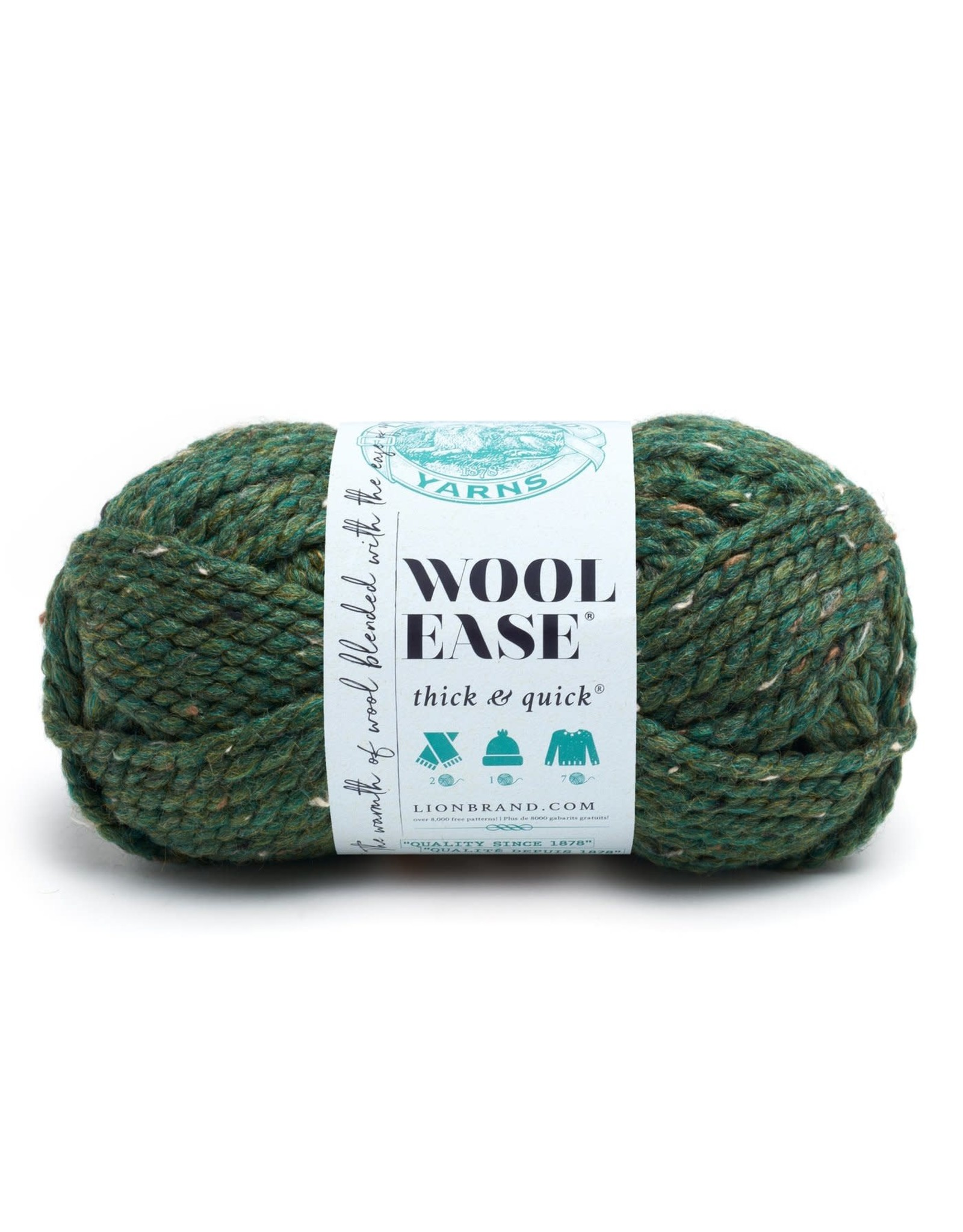 Kale - Wool Ease Thick and Quick - Lion Brand