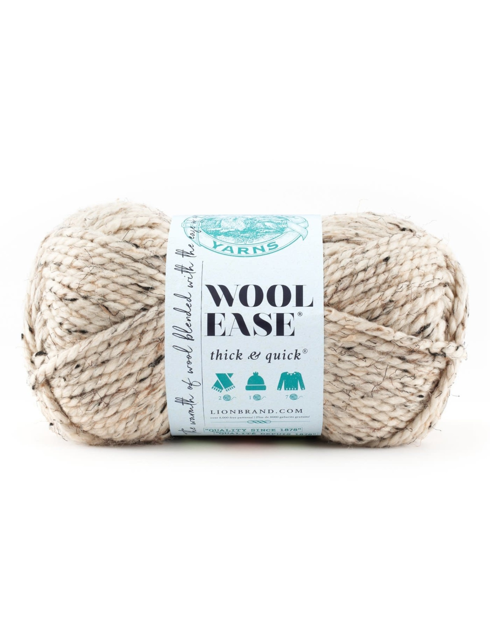 Oatmeal - Wool Ease Thick and Quick - Lion Brand