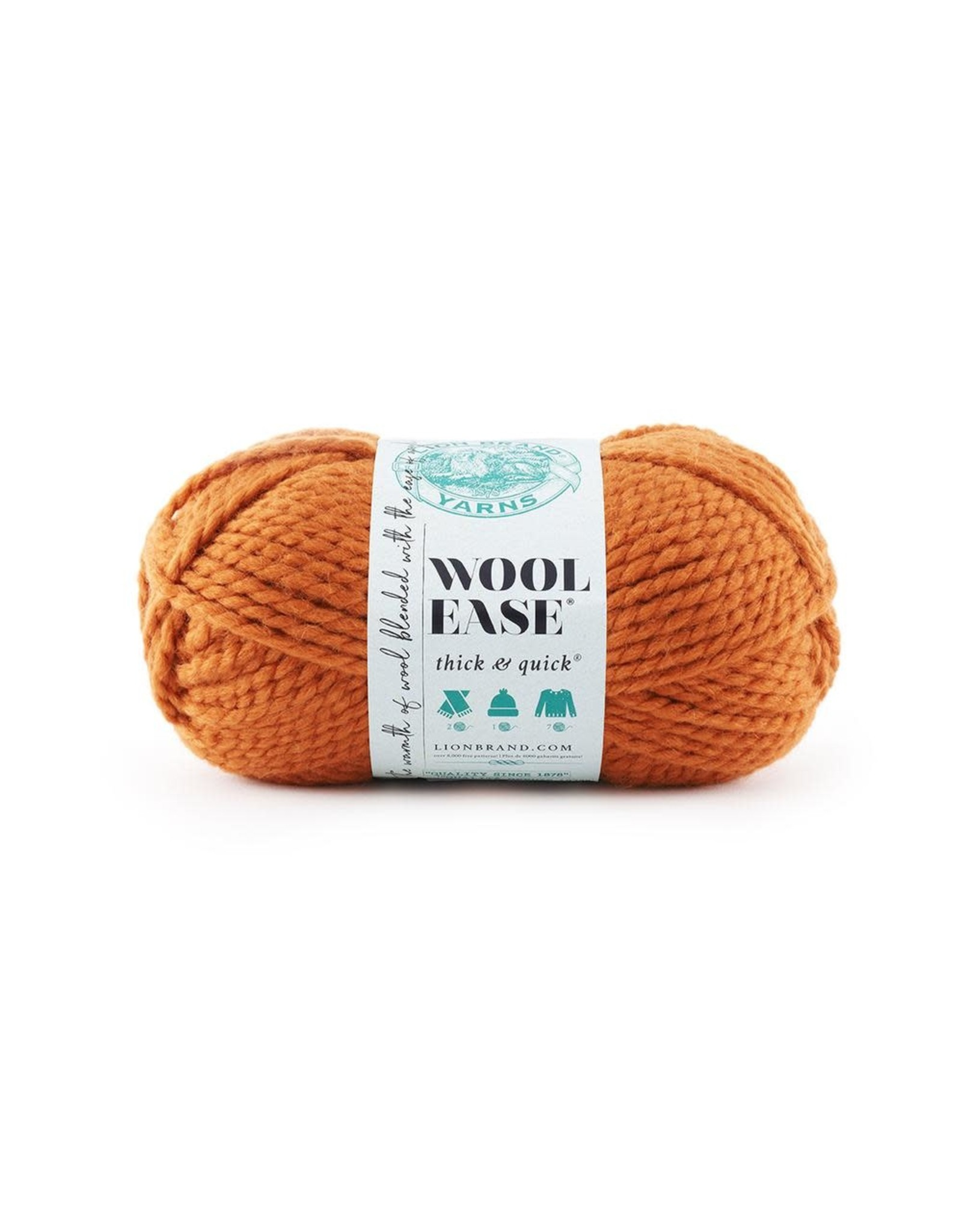 Pumpkin - Wool Ease Thick and Quick - Lion Brand