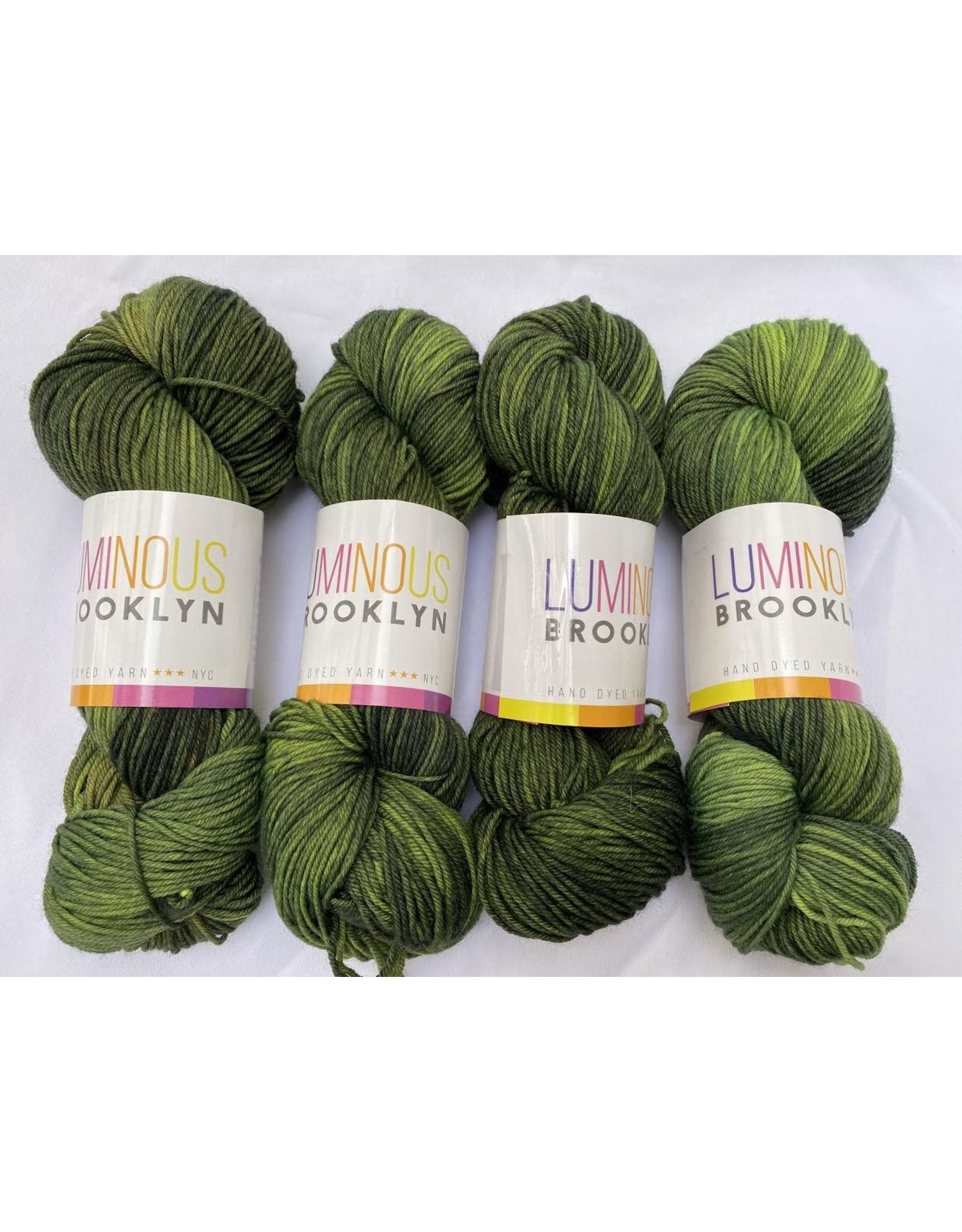 Luminous Brooklyn Olive - Dazzling DK - Luminous Brooklyn