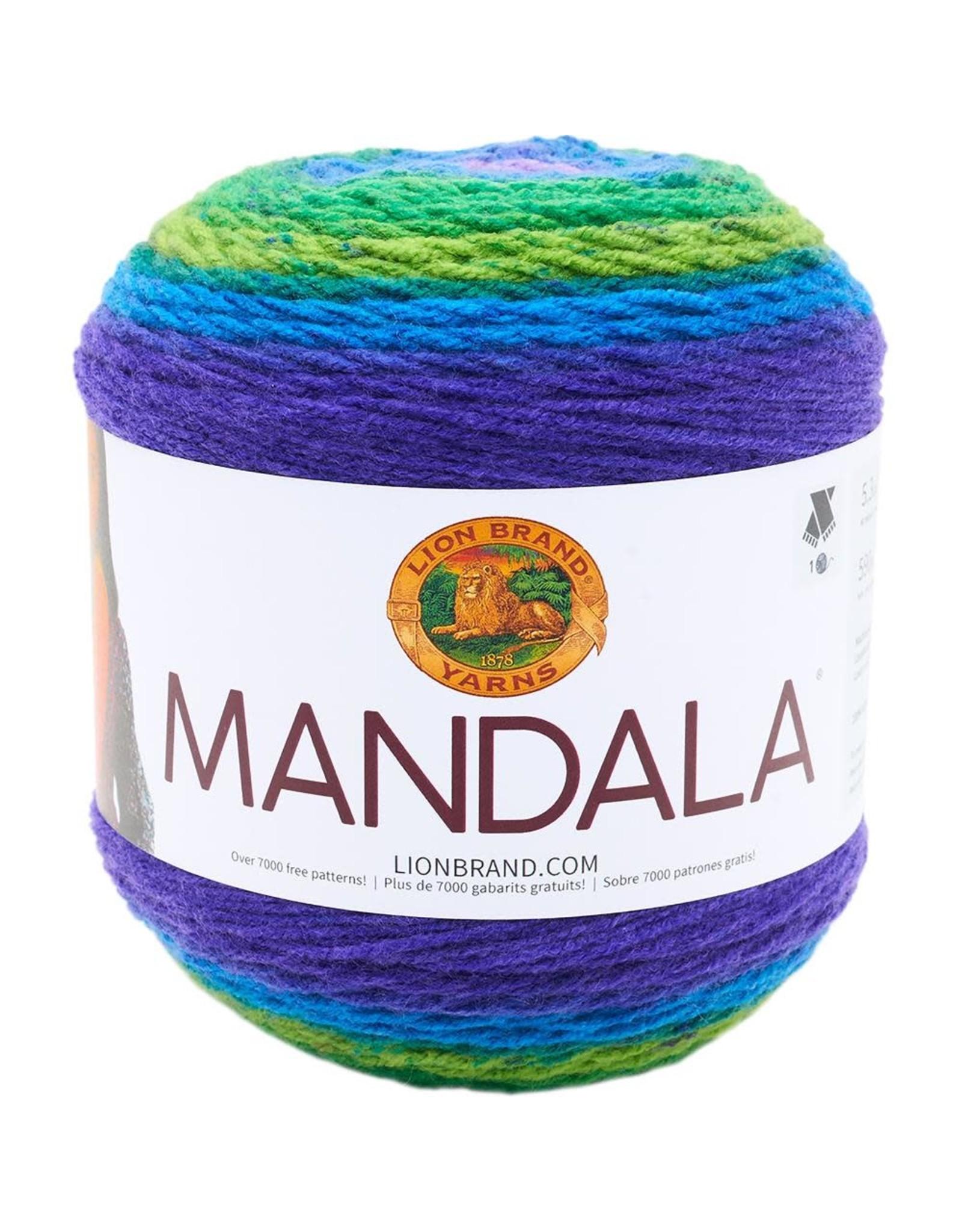 Wizard- Mandala - Lion Brand
